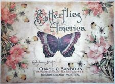 Rice Paper for Decoupage Scrapbook Craft Butterflies and Flowers 3