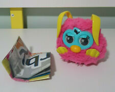 2012 Hasbro Furby Party Rockers Creature (Pink Loveby w/ Yellow Ears) 10CM
