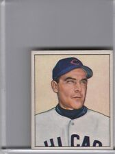 1950 BOWMAN #195 PHIL CAVARETTA CHICAGO CUBS B088