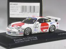 TOP: MINICHAMPS Porsche 911 gt3 Cup 2004 M Strategies #27 en 1:43 dans neuf dans sa boîte