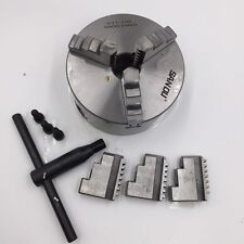 "130MM Self Centering 3 Jaw 5"" Lathe Chuck Metal Lathe Part Tool Accessory CNC"