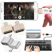 3 Color Micro USB 2.0 Female to USB 3.1 Male Converter USB OTG Adapter