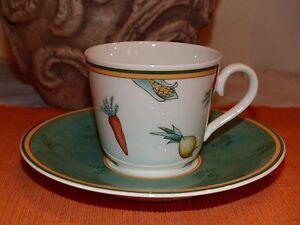 "V&B Villeroy & Boch "" A La Ferme "" 2 tlg. Kaffeetasse"