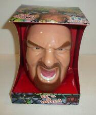 WCW Wrestling GOLDBERG Head Mug Coffee Cup Plastic NWO Head Slammers 1999 10oz