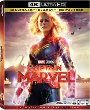 CAPTAIN MARVEL   (4K ULTRA HD ) Blu Ray Region free
