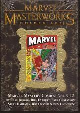 Marvel Masterworks HC Vol 102 Golden Age Marvel Mystery Comics Nos. 9-12 Sealed