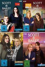 15 DVDs * SCOTT & BAILEY - SEASON / STAFFEL 1 - 4 IM SET # NEU OVP &
