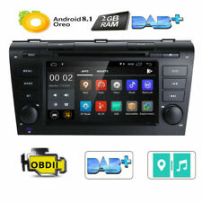 For Mazda 3 2004-2009 Android 8.1 Car DVD Player GPS Navigation Stereo Radio OBD