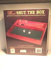 Cardinal Classic Games Collection - Shut the Box, Boys & Girls, Ages 6+, NIBFS