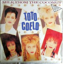 VINILE LP 45 GIRI RPM TOTO COELO MILK FROM THE COCONUT  TIC 13 12 1983