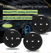 2Pcs Car Navigation DVD Steering Wheel Button Remote Key wireless
