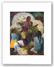 LATIN ART PRINT The Flower Vendor Diego Rivera 11x14
