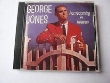 793018206525 GEORGE JONES HOMECOMING IN HEAVEN RARE FAST POST CD