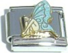 Italian Charm Fairy Pixie Blue Wings Fairie God Mother