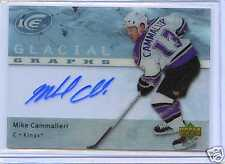 2007-08 UPPER DECK GLACIAL GRAPHS MIKE CAMMALLERI