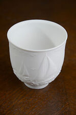 Lladro Collector Society White Porcelain Cup Sailing The Sea Sailboat Boat 17657