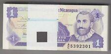 NICARAGUA 1991 1 Centavo Bundle 100pcs UNC. Billets P 167 Wholesale