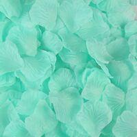 1000pcs Silk Rose Flower Petals Engagement Wedding Decoration Confetti Table