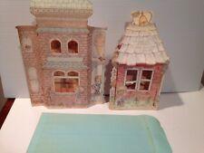 Hallmark/Betsey Clark POP UP GIANT CARDS SHADOW BOX LOT 2 SCHOOL ICE CREAM SHOP