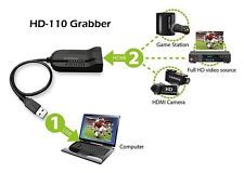 FULL HD 1080P Video Capture through HDMI to USB - HD110 - supports streaming