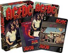AC/DC Lot de 52 cartes à jouer (LP Housses) + Jokers (NM 52468)