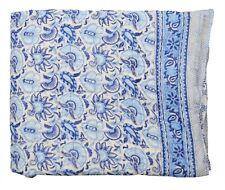 Mother's Day Cotton Handmade Reversible Winter Quilt Razai Floral Print Blanket