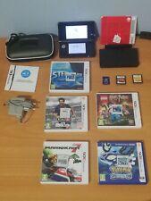 Nintendo 3ds black (PAL) + case + 7 games + Dock station