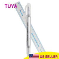 Tattoo Piercing Skin Marker Medical Surgical Scribe Pen + Sterile Surgical Ruler