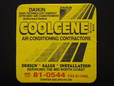 COOLCENE P/L AIR CONDITIONING CONTRACTORS DAIKIN 810544 COASTER
