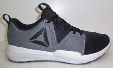 9592e5b13918 Reebok Size 9.5 HYDRORUSH TR Black Athletic Training Sneakers New Mens Shoes