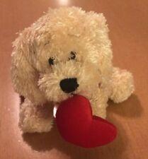 """Ganz Valentine Soft Spots Tiny Dog Plush 4"""""""