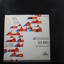 "Kim Borg - Joululauluja 10"" LP VG+ DLP 9004 Mono 1959 Finland Vinyl Record"