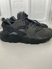 Nike Air Mens Grey Leather Trainers Size 8/41