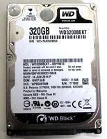 """Western Digital Scorpio Black WD3200BEKT 320GB SATA 3.0Gb/s 2.5"""" Hard Drive Disk"""