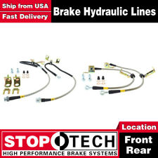 Stoptech Front + Rear Stainless Steel Brake Lines For 1992-2000 Dodge Viper