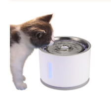 Stainless Steel Drinking Water Fountain for Cats