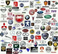EMBLEMA LOGO LLAVE VW AUDI TDI OPEL CITROEN  FR BMW SEAT PEUGEOT ALFA FIAT HONDA