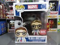 Funko POP! Marvel Collector Corps Bruce Banner & The Hulk #284
