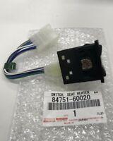 TOYOTA 84751-60020 Seat Heater Switch Left Genuine Car Parts LAND CRUISERn