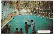 Butlins; Minehead, The Indoor Swimming Pool PPC, Unposted, By Harvey Barton