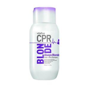 CPR Vitafive Always Blonde Shampoo 300ml - Quality wash, professional result