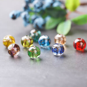5Pcs 12mm Lot Czech Glass Spacer Loose Beads for DIY Bracelet Jewelry Making