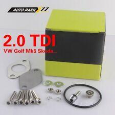 2.0TDi Audi Volkswagen EGR Remove Kit Golf MK5 Skoda Valve Pipe EGR Delete Kits