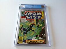 IRON FIST 6 CGC 9.2 OW TO W PAGES DEATH MATCH COLLEEN WING MARVEL COMICS 1976
