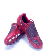 NIKE KIDS RED TOTAL90 STRIKE II FOOTBALL BOOTS BNIB EU 38.5 318792606