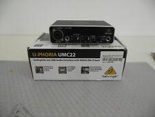 USB Audio interface Behringer U-Phoria UMC22
