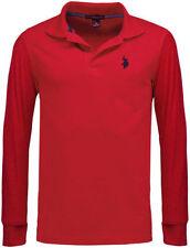Camicie casual e maglie da uomo rossi Polo