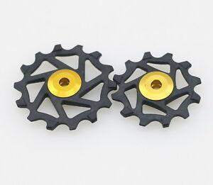 J&L 12T+14T Ceramic Derailleur Pulley/Jockey For Shimano ULTEGRA R8000,R8050