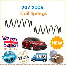 For Peugeot 207 1.4 2006- Two Rear Coil Springs Set Pair x2 5102Q5 New