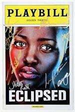ECLIPSED Cast Akosua Busia, Lupita Nyong'o Signed Opening Night Playbill